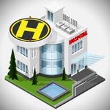 O hospital médico Ilustração Stock