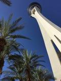O hotel da estratosfera em Las Vegas Foto de Stock Royalty Free