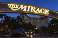 O hotel da miragem em Las Vegas, nanovolt o 5 de junho de 2013 Imagens de Stock
