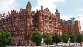 O hotel da região central em Manchester, Inglaterra fotografia de stock