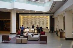 O hotel de Hyatt Regency Cincinnati imagens de stock royalty free