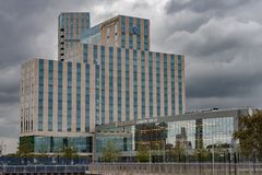 O hotel de luxo Londres intercontinental - o O2 fotos de stock