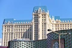 O hotel de Paris e a milha do milagre compram em Las Vegas Imagem de Stock Royalty Free
