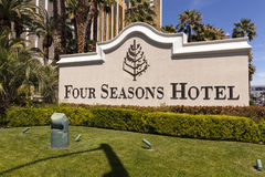 O hotel de quatro estações canta em Las Vegas, nanovolt o 19 de abril de 2013 Fotos de Stock Royalty Free