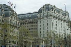 O hotel de Willard Imagens de Stock Royalty Free
