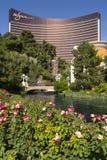 O hotel de Wynn e os jardins luxúrias em Las Vegas Fotos de Stock Royalty Free