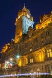 O hotel do Balmoral em Edimburgo Fotografia de Stock Royalty Free