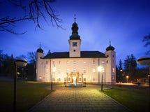 O hotel do castelo de Trest Imagem de Stock