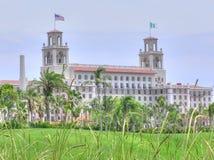 O hotel dos disjuntores e o recurso, Palm Beach, Florida foto de stock