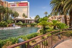O hotel e o casino da miragem Imagem de Stock Royalty Free