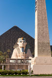 O hotel e o casino de Luxor Fotos de Stock Royalty Free