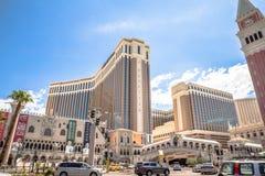 O hotel e o casino Venetian Fotos de Stock