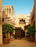 O hotel e o distrito famosos do turista de Madinat Jumeirah Imagem de Stock