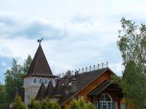 O hotel está em Sergiev Posad Foto de Stock Royalty Free