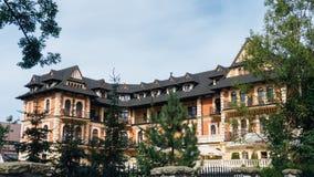 O hotel grande Stamary oferece 53 salas Fotos de Stock