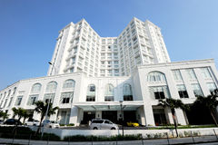 Hotel majestoso Kuala Lumpur Imagens de Stock Royalty Free