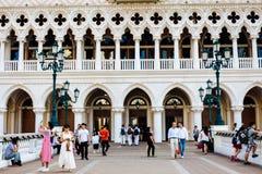 O hotel Venetian Fotografia de Stock Royalty Free