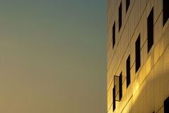 O hotel Window Imagem de Stock