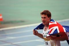 O Hough de Nicholas de Austrália comemora a prata Fotografia de Stock Royalty Free