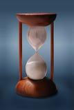 O Hourglass isolou-se fotos de stock