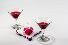 O humor festivo no dia de Valentim Foto de Stock Royalty Free