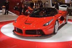 Ferrari LaFerrari - exposição automóvel 2013 de Genebra imagens de stock royalty free
