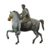 O imperador de Constantim isolou-se Fotografia de Stock Royalty Free