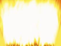 O incêndio inflama o frame Fotografia de Stock Royalty Free