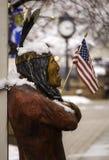 O indiano americano Humbled Foto de Stock