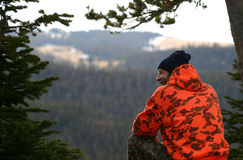 O indivíduo do caçador Foto de Stock