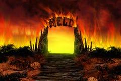 O INFERNO no incêndio foto de stock royalty free