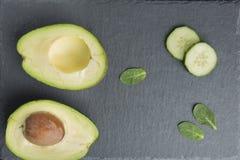 O ingrediente natural para o skincare, esfrega ou smoothy foto de stock