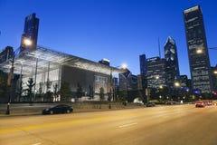 O instituto da arte de Chicago Imagens de Stock Royalty Free