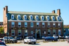 O instituto da igreja dos marinheiros, Newport, RI imagens de stock royalty free