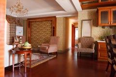 O interior caro luxuoso da casa Foto de Stock Royalty Free