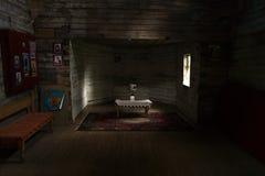 O interior da capela do Dormition da mãe do deus Foto de Stock Royalty Free