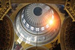 O interior da catedral de Kazan em St Petersburg, Rússia Imagens de Stock