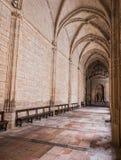 O interior da catedral de nossa senhora da suposição, claustro localiza Foto de Stock Royalty Free