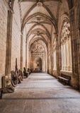 O interior da catedral de nossa senhora da suposição, claustro localiza Imagem de Stock Royalty Free
