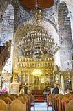 O interior da igreja Fotografia de Stock Royalty Free