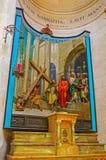 O interior da igreja da convicção foto de stock royalty free