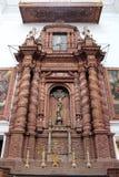 O interior da igreja de Saint Cajetan do providência Divine fotos de stock