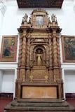O interior da igreja de Saint Cajetan do providência Divine fotografia de stock royalty free