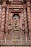 O interior da igreja de Saint Cajetan do providência Divine fotografia de stock