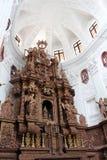 O interior da igreja de Saint Cajetan do providência Divine foto de stock