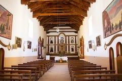 O interior da igreja de Tilcara Fotos de Stock
