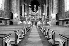 O interior da igreja sueco. Fotografia de Stock Royalty Free