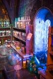O interior da mágica do professor Snape entalha a coleção Decoração Warner Brothers Studio para o filmStudio de Harry Potter Fotografia de Stock