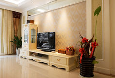 O interior da sala de visitas da elegância Fotos de Stock
