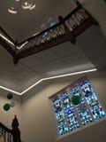 O interior da universidade em Austrália fotos de stock